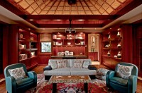 "Collector's Media Room. 2010 ASID Hawaii Members Choice Award. ""This is a wonderful example of a very intimate refuge with loads of personality."" – Judge's comments"