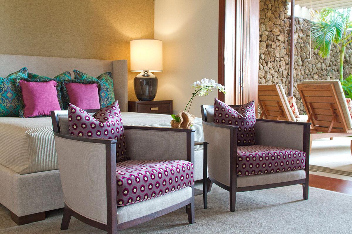 Hawaiian Style Bedroom: Hawaii Interior Designer