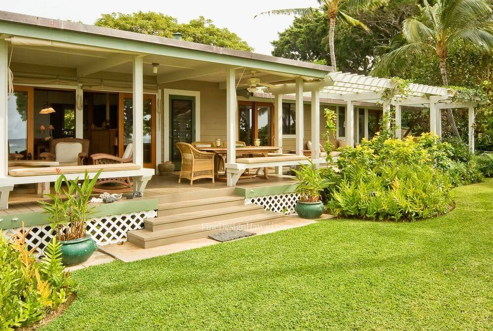 Hawaiian cottage style for Hawaiian plantation style home plans